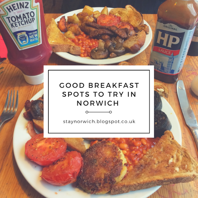 Good breakfast spots to try in Norwich