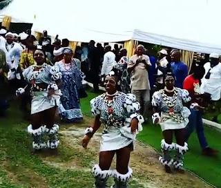 Photos From Davido's Brother Adewale Adeleke's Traditional Wedding