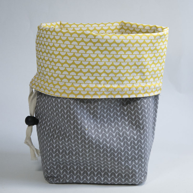 Reversible Drawstring  Gift Bag DIY Tutorial