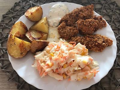 Nuggetsy z kurczaka - bez tłuszczu i bardzo chrupiące