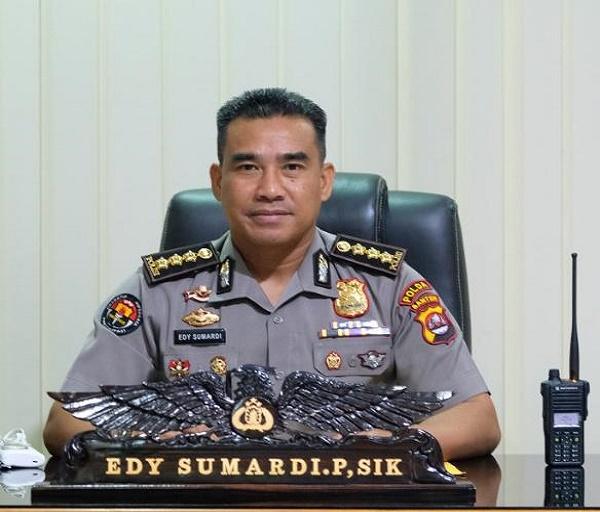 Sosok Kombes Pol Edy Sumardi Priadinata dan Dedikasinya Sebagai Kabidhumas Polda Banten