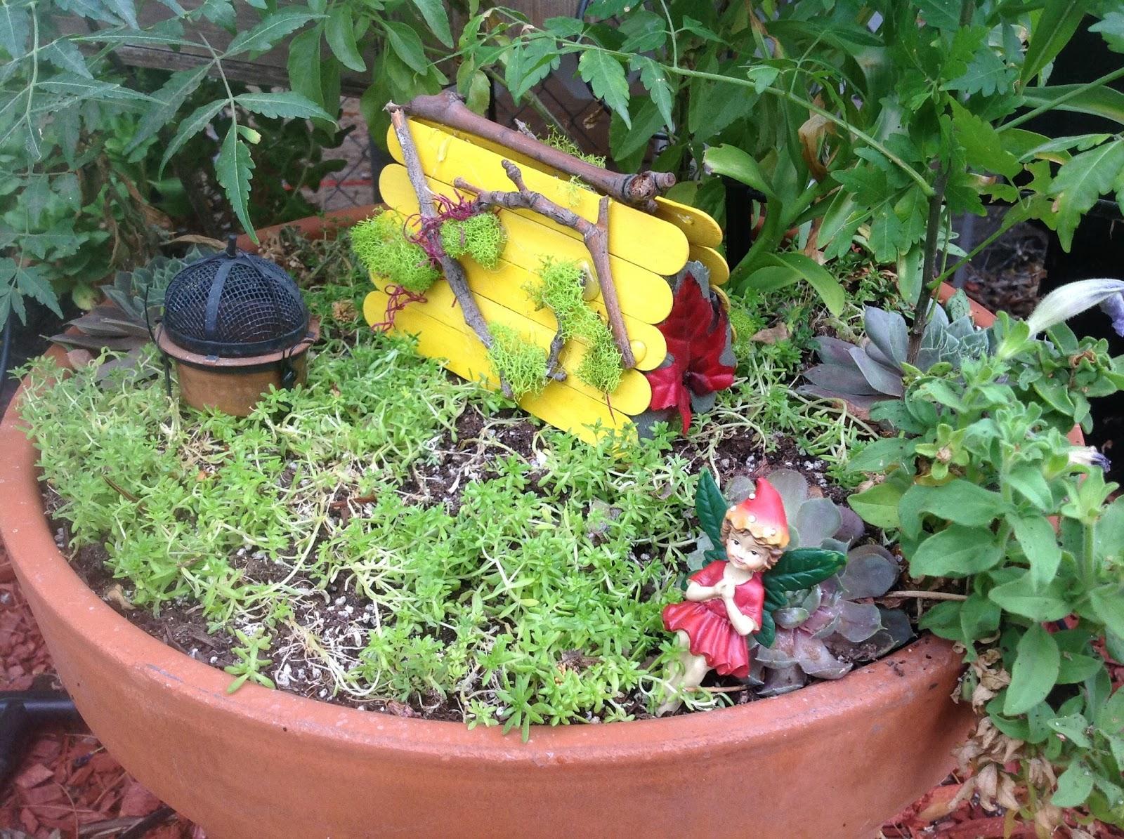 Grandmau0027s Enchanted Fairy Garden: Fairy Garden Class   DIY Miniature Tents