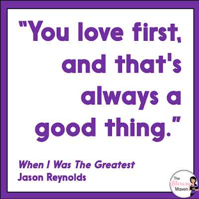 In When I Was The Greatest by Jason Reynolds, Ali, Noodles, and Needles are friends who get into trouble over their heads when they attend a party for an older crowd in another neighborhood. Noodles must come to terms with how he treats his brother Needles and Ali must turn to his father for help. Read on for more of my review and ideas for classroom application.