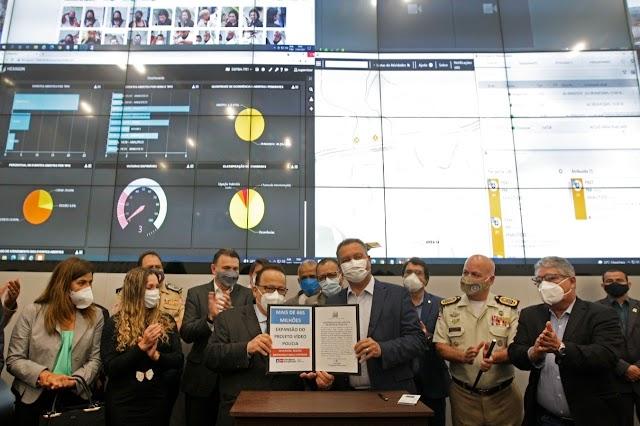 Porto Seguro está inclusa entre os 77 municipios que terá o serviço de reconhecimento facial e de placas