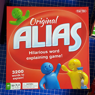 Original ALIAS game from Tactic review box shot