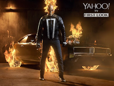 First Look - Marvel's Agents of Shield Season 4 Ghost Rider Robbie Reyes