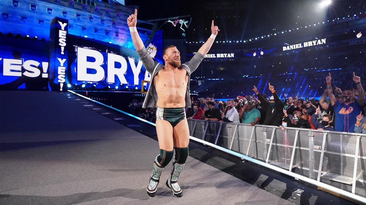 Daniel Bryan at WWE WrestleMania 37