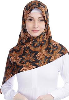 Jilbab Batik Tulis Favorit
