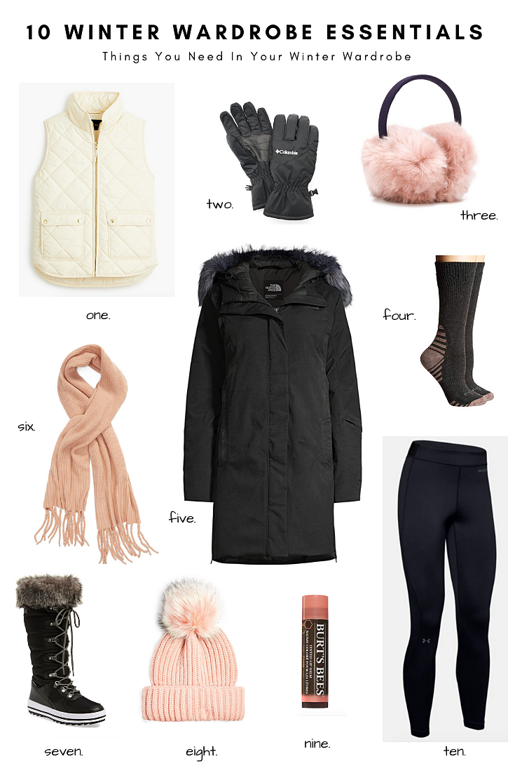 10 Winter Wardrobe Essentials: Things You Need In Your Winter Wardrobe