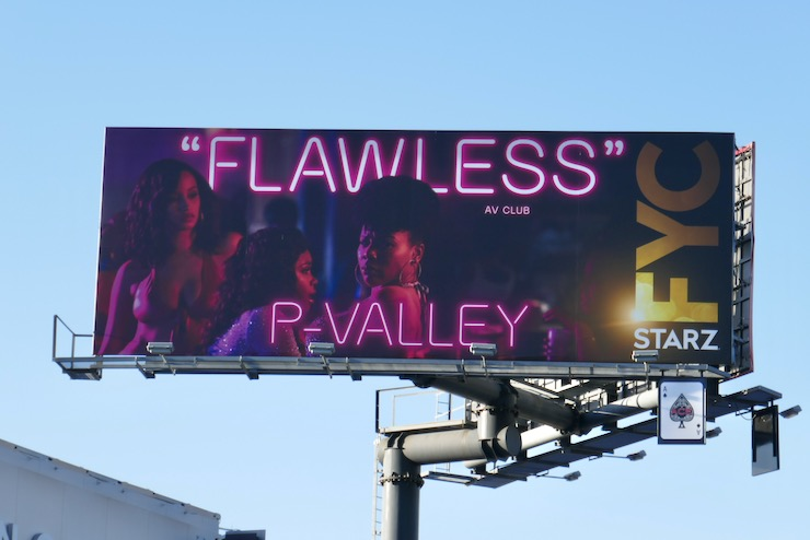 P-Valley Flawless FYC billboard