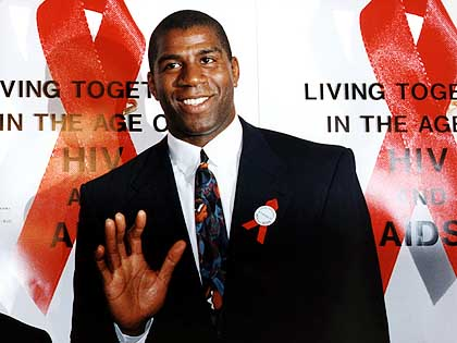 Hall of Record: New HIV Drug Screener Identifies Better ...Magic Johnson Aids