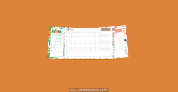 12 Calendarios mensuales 2020 para imprimir GRATIS