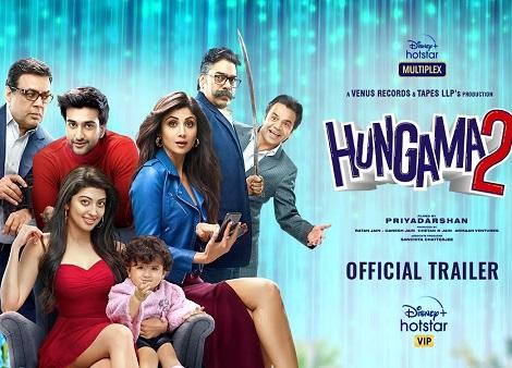 Download Hungama 2 (2021) Hindi 720p + 1080p WEB-DL ESubs