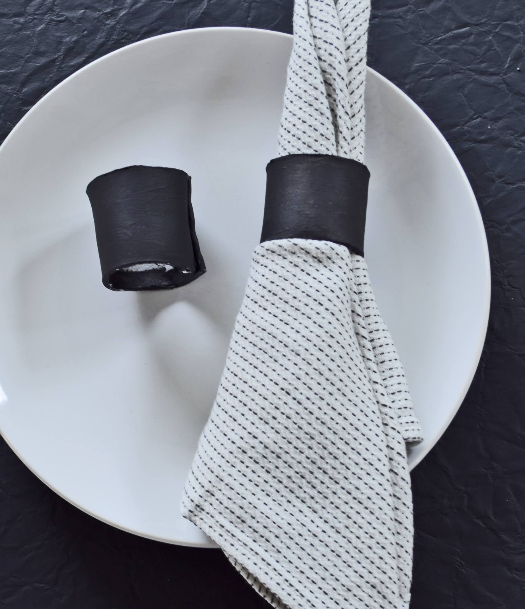 pierścień na serwetkę jak zrobić