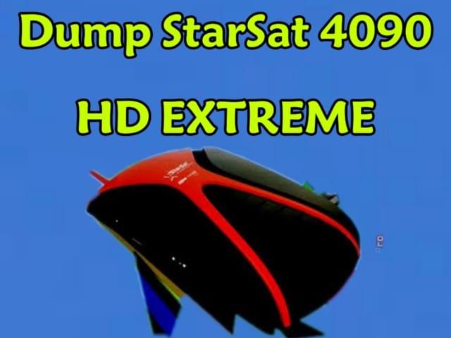 دامب أصلي لجهاز  Dump StarSat sr-4090HD EXTREME