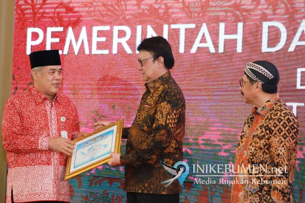 Raih Nilai 89.23, Kebumen Sabet Penghargaan Pengawasan Kearsipan dari ANRI