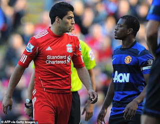 Liverpool apologize to ex-Man.U star Patrice Evra 9-years after he was racially abused by Luis Suarez