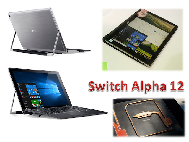 "Notebook Tanpa Kipas ""Switch Alpha 12"""