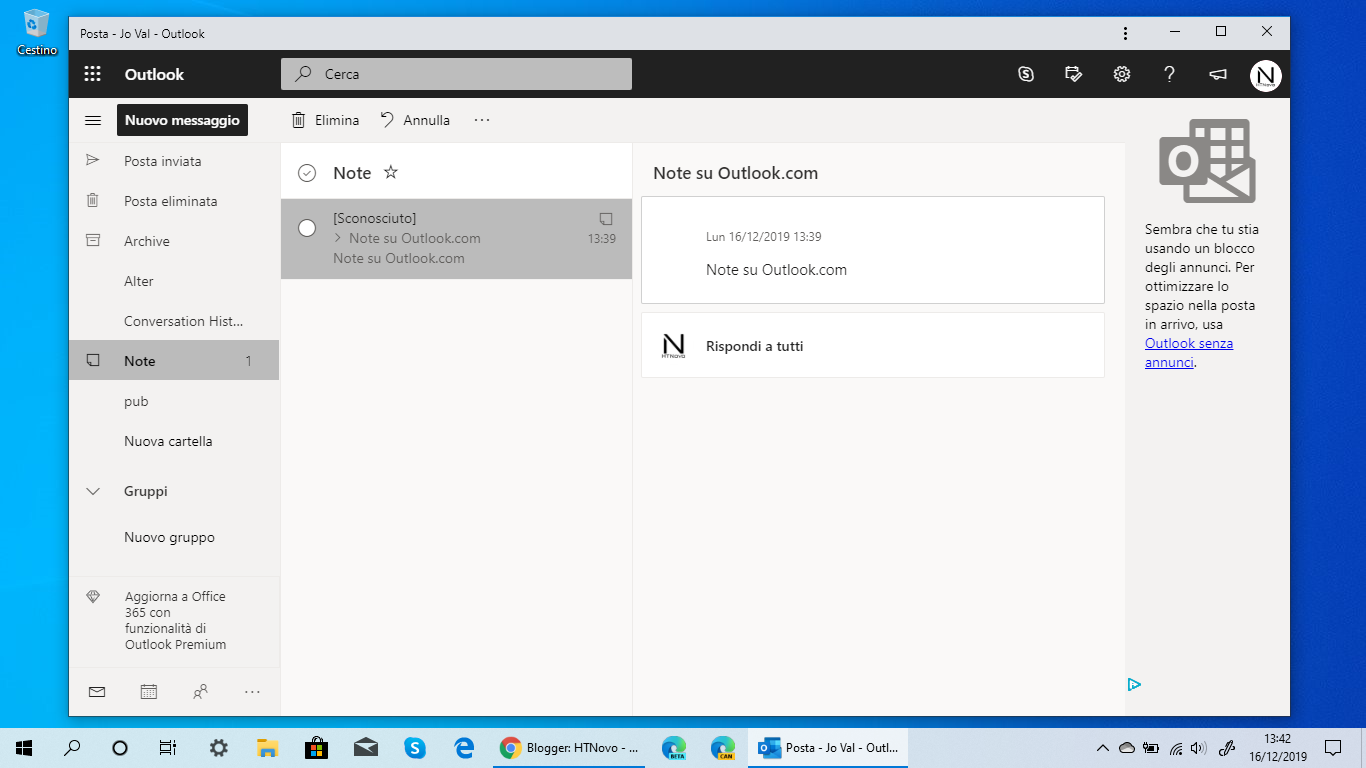 Note-Outlook.com