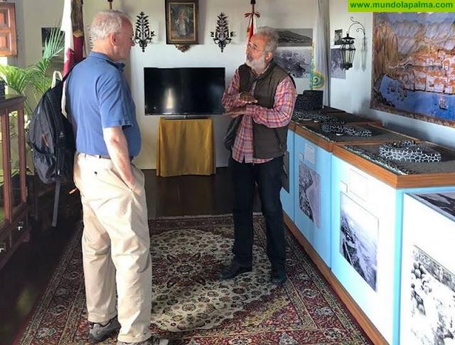 Thomas Cox visita el Castillo de Santa Catalina