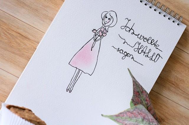 doodle - ich möchte hallo sagen