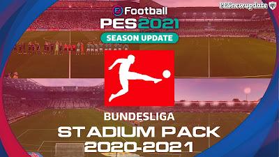 PES 2021/PES 2020 Full Bundesliga Stadium Pack 2020/2021