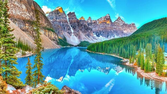 Parque Nacional de Banff no Canadá/Reprodução
