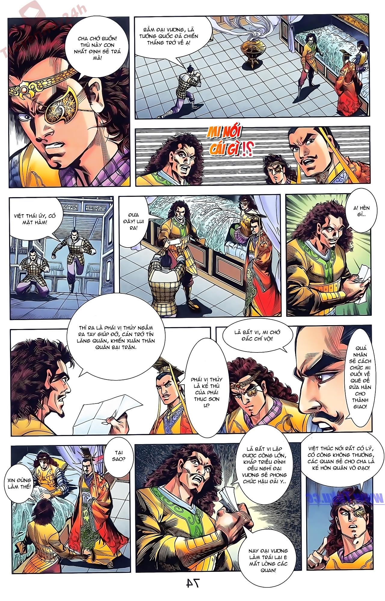 Tần Vương Doanh Chính chapter 49 trang 28