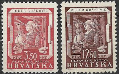 Croatia NDH 1943 Ruder Boskovic