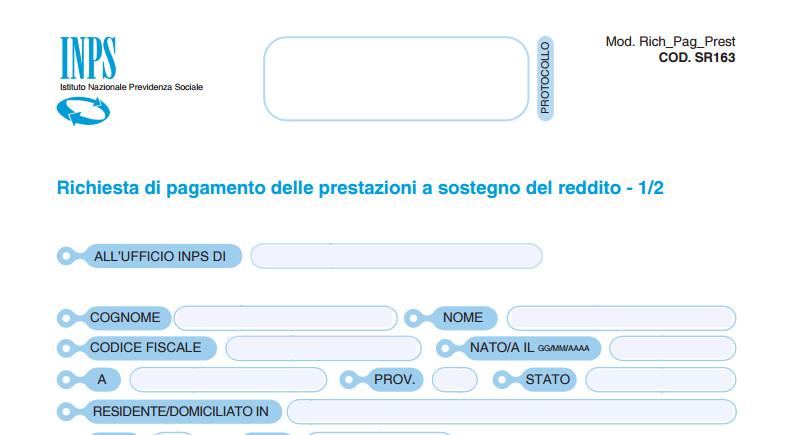 modello sr163 pdf