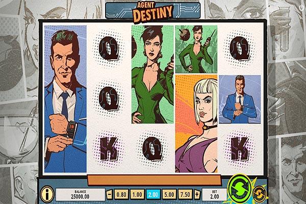 Main Slot Indonesia - Agent Destiny (Play N Go)