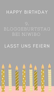 9. Bloggeburtstag bei niwibo