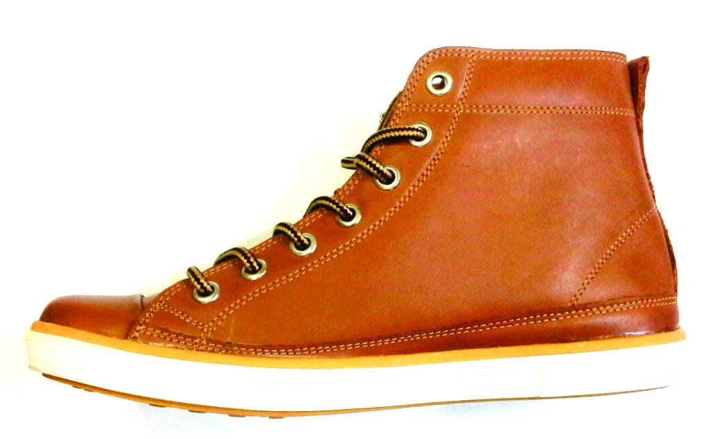 Sepatu Kulit Asli Gladiator coklat muda