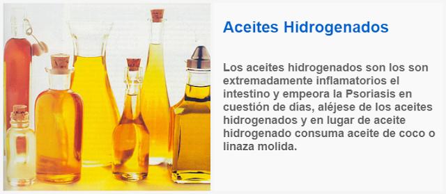 Disminuye El Consumo De Aceites Hidrogenados remedios caseros para la psoriasis