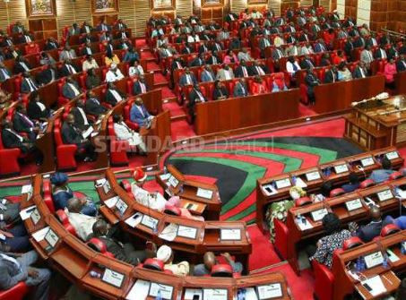 Farting politician shuts down Kenyan parliament as lawmakers accuse each other of being responsible for the 'offending smell'