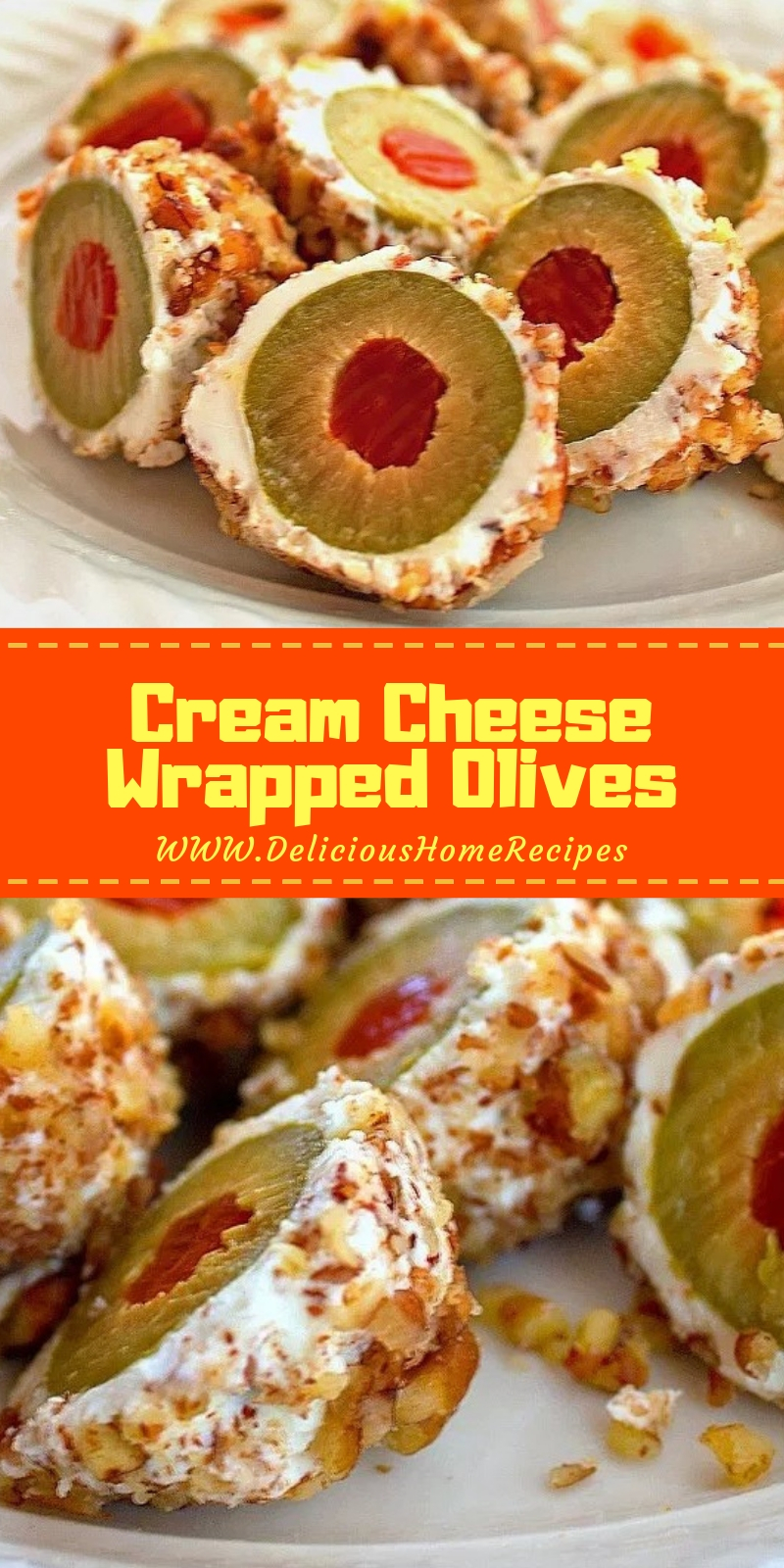 Cream Cheese Wrapped Olives Recipe