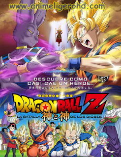 Dragon Ball Z Batalla de los dioses Pelicula Audio Latino Online