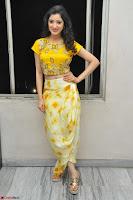 Richa Panai in Yellow Slim Fit Crop top ~ CelebxNext 013.JPG