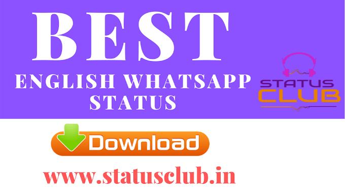[Best] English Whatsapp Status Video Download | 2020