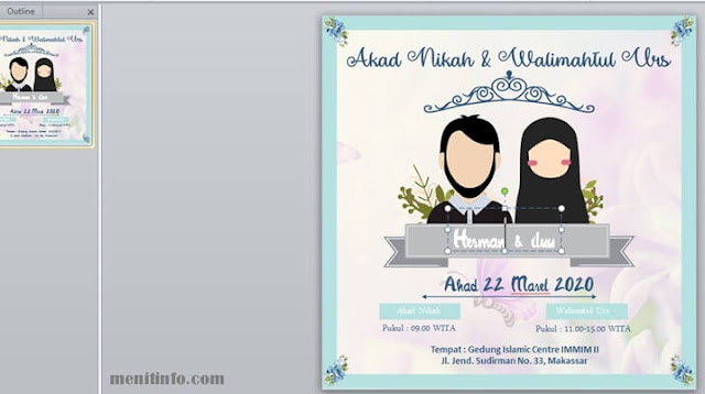 template undangan nikah digital