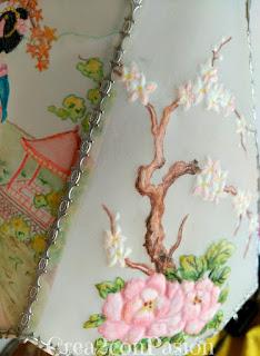 Lámpara-pergamano-repujado-pintado-con-pinturas-acuarelables-motivos-orientales-Crea2-con-Pasión-motivo-3