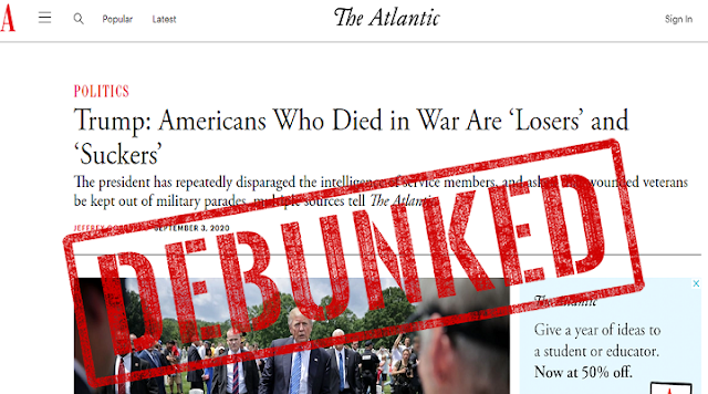 FACT CHECK: Newly Released Documents Show That The Atlantic Story is a Complete Hoax