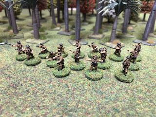 15mm British Officers and HQ figures for Malaya