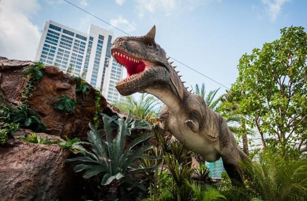 Jatim Park 3 ( Dino Park ), Tempat Wisata Keluarga Terbaru Di Kota  Batu
