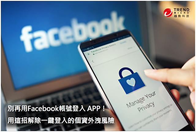 如何移除Facebook和應用程式的連結 臉書 個資 教學