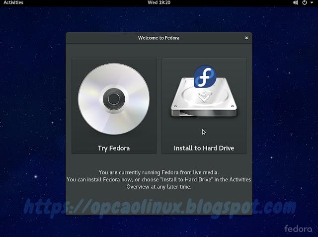 """Clique em """"Install to Hard Drive"""""""