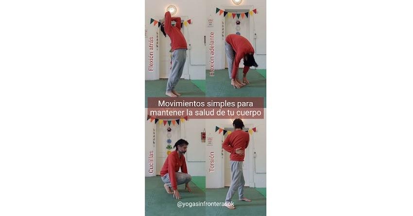 Video: Movimientos simples para mantener la salud de tu cuerpo.