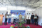 Plt Bupati Lombok Utara Hadiri Penyerahan Hadiah Wajib Pajak Kooperatif