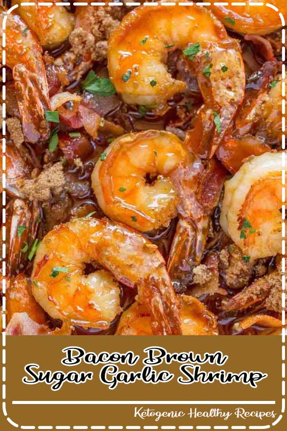 Bacon Brown Sugar Garlic Shrimp