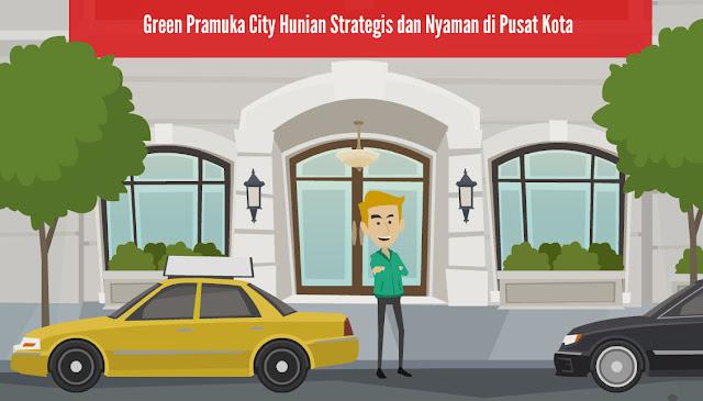 Green Pramuka City Hunian Strategis dan Nyaman di Pusat Kota lo bro dan sis